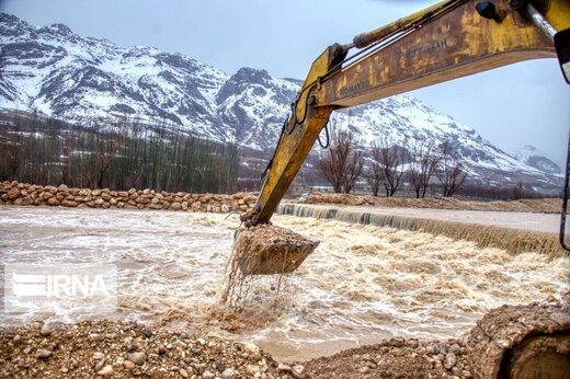 جاری شدن سیلاب در گلستان/ تخریب ۳۵ هکتار از اراضی کشاورزی