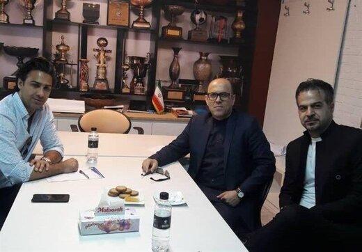 مجیدی برای جلسه اضطراری به باشگاه استقلال رفت