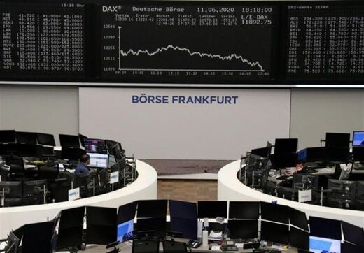 افت شاخص سهام اروپا به علت افزایش شمار مبتلایان به کرونا در آمریکا