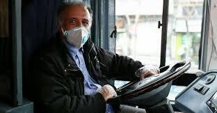 استفاده از ماسک در اتوبوسهای شهری گرگان اجباری شد