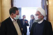 ببینید   گفتگوی روحانی و جهانگیری در حاشیه جلسه ستاد اقتصادی دولت با ماسک