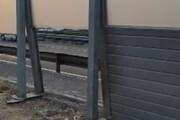 ببینید | سرقت دیوارهای حائل صوتی در اتوبان حکیم