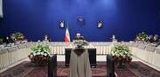 الرئيس روحاني يؤكد على التعامل البناء بين الحكومة والبرلمان
