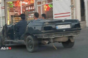 عکس    خودرو پرشیا کروک!