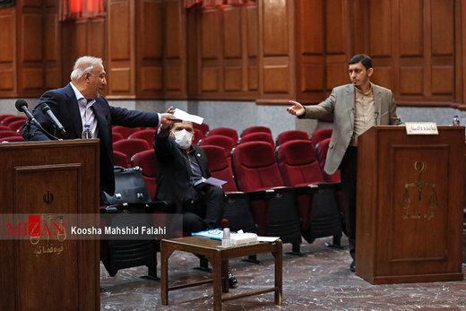هشتمین جلسه رسیدگی به اتهامات اکبر طبری معاون اجرایی سابق حوزه ریاست قوه قضاییه و متهمان دیگر