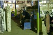 عکس | بستری شدن بیماران کرونایی در پارکینگ بیمارستان مسیح دانشوری