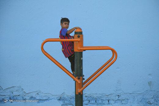 کوچههای رنگی، در خاکستری ترین نقطه تهران