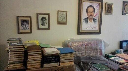 اهدای دستنوشتههای شهید هستهای به کتابخانه ملی