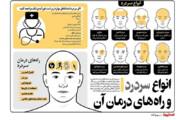 اینفوگرافیک | راه های درمان انواع سردردها