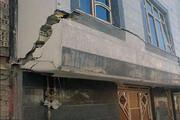 ببینید | فرونشست زمین در پاکدشت تهران ۲۷ خانواده را مجبور به ترک خانههایشان کرد