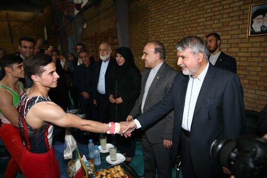 صالحی امیری: به آینده ژیمناستیک ایران امیدوارم
