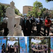 اولین بوستان آموزش شهروندی در قزوین افتتاح شد