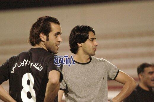 مجیدی و علی کریمی در یک قاب ویژه/عکس