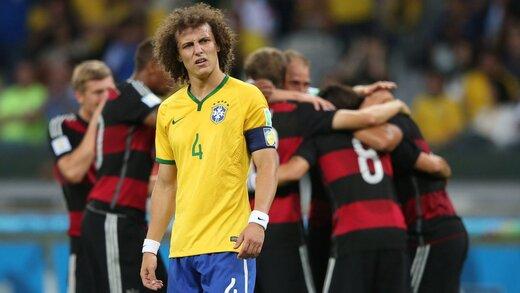 روزی که برزیلیها تحقیر و پخش زمین شدند!/ عکس