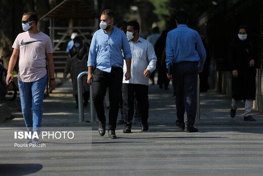 اجرای طرح ماسک اجباری در همدان