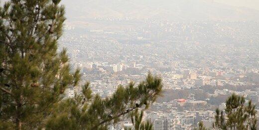 ازن در هوای تهران افزایش یافت