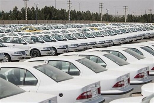 خودروسازان تنها ۹۰ هزار دستگاه خودروهای ناقص کف پارکینگی دارند