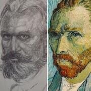 شباهت دو نقاش / یکی نقاشیهایش را میسوزاند و دیگری گوش خودش را میبُرید!