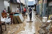 ببینید | تصاویری از خسارت های سیل در جزیره کیوشو ژاپن