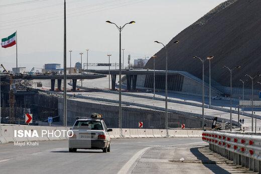 انسداد آزاد راه تهران–شمال تا اطلاع ثانوی