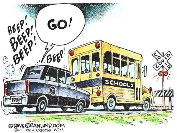 آقای ترامپ مقصد این اتوبوس کجاست؟!
