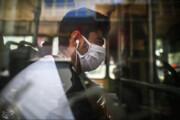 تصاویر | استفاده از ماسک در اتوبوسهای شهری