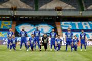 بازیکنان استقلال فاصله اجتماعی را رعایت نکردند/عکس