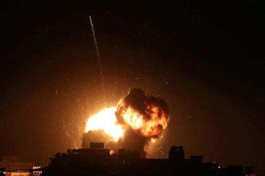 ببینید | حمله به نیروهای آمریکایی در عراق و به آتش کشیدن ۳ زره پوش