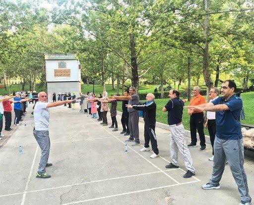 رئیس هیئت ورزشهای همگانی همدان: ایستگاههای ورزش صبحگاهی همدان در فضای روباز فعال هستند