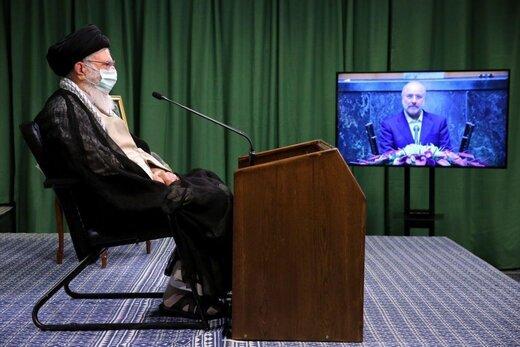 گزارش ویدئو کنفرانسی قالیباف به رهبر انقلاب: تدوین «بسته اقتصاد مردمی» در دستورکار مجلس است / مجلس به جای شعار، در عمل کارآمدی خود را ثابت می کند