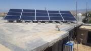 اولین نیروگاه خورشیدی در دهدشت به بهره برداری رسید/تصاویر