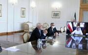 ظريف يؤكد على تنمية العلاقات بين ايران والكويت