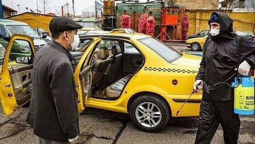 کرونا ۴۵۰ راننده تاکسی را مبتلا کرد