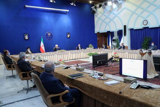 تصویری از روحانی و ۲ رئیس قوه دیگر در جلسه شورای عالی هماهنگی اقتصادی