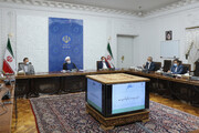 روحانی:اداره کشور با کمترین اتکا به نفت، قدرتنمایی در جنگ اقتصادی است