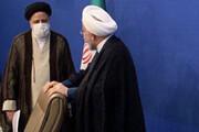 عکس | روحانی و سید ابراهیم رئیسی در نمایی جالب در حاشیه جلسه شورای عالی انقلاب فرهنگی