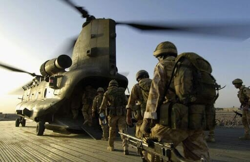 آمریکا نیروهایش را از افغانستان خارج کرد