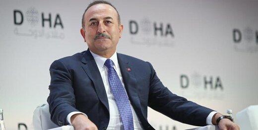 دیدار وزیر خارجه ترکیه با مقامات لیبی