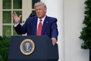 شدیدترین حملات ترامپ به بایدن در نشست خبری