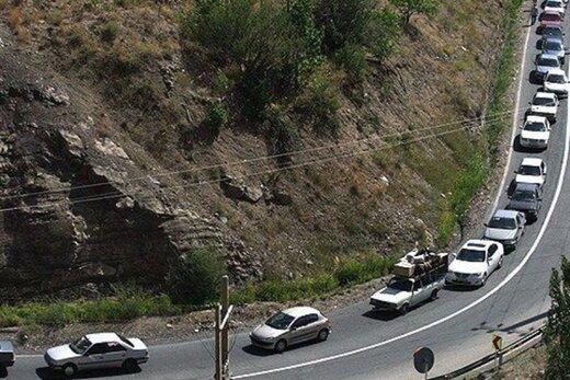 ترافیک سنگین در ورودیهای تهران/ تردد در جاده های شمالی روان است