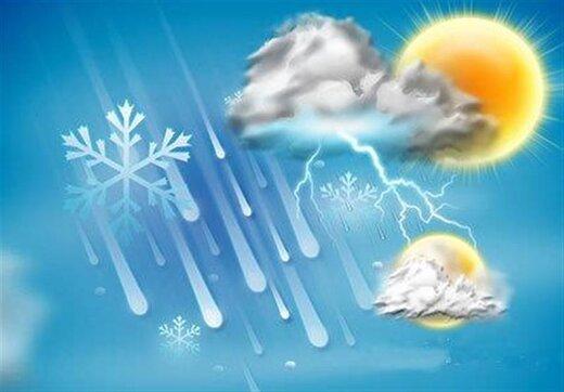 ببینید | پیشبینی وضعیت هوا در روزهای آینده