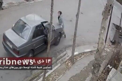 ببینید | دستگیری سارق به عنف با 50 مورد سرقت در تهران و البرز