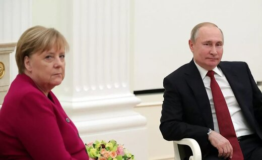 پوتین در گفتگو با مرکل درباره تحریمهای ایران چه گفت؟