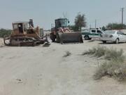 ۵۱هزارمتر مربع از اراضی ملی در روستای گورزین قشم رفع تصرف شد