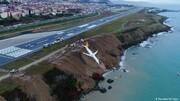 ببینید | حادثه مرگبار برای هواپیمای هندی با ۱۹۱ مسافر