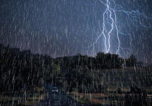 باد شدید و باران سه روزه در کشور؛ احتمال رگبار در آسمان تهران