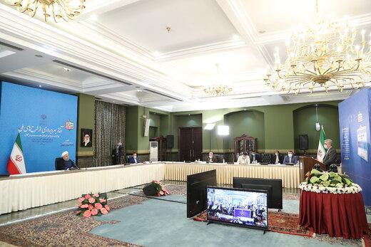 روحانی: نیازمندی کشور به خارج به حداقل رسیده/مسیر توسعه ادامه دارد