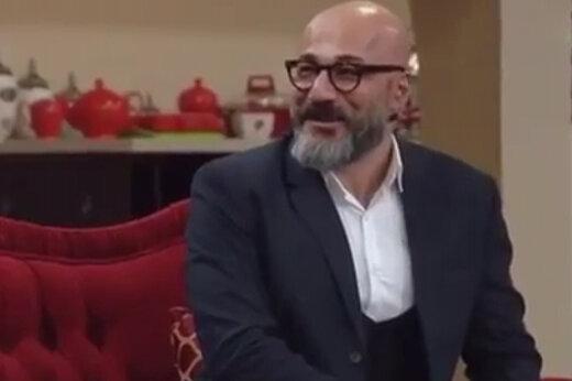 تیپ «آقازاده» معروف در جشن حافظ/ عکس