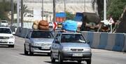 مقایسه وضعیت ترافیک جادهها نسبت به پارسال