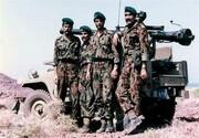 احترام ویژه و متفاوت پایگاه نظامی انگلیس به یک فرمانده ارتشی ایران /شکارچی تانکها که بود؟ +تصاویر